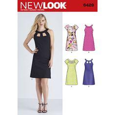 Pattern 6429 Misses' Dresses