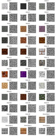 Stone Tiles ACNL by frootzcat.deviantart.com on @DeviantArt