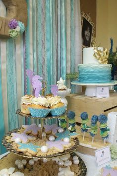 Aliyah's 3rd Birthday Under the Sea Adventure featuring Mermaid Dora  | CatchMyParty.com