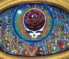 Steal Your Face is a live double album by the Grateful Dead, released in June 1976. Description from pixgood.com. I searched for this on bing.com/images