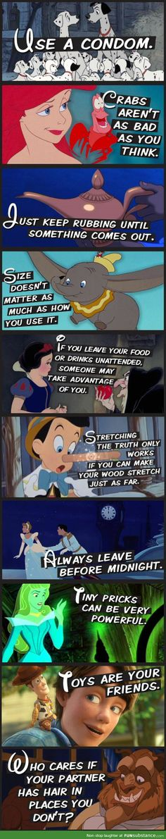 10 Lessons we can learn from Disney. Bahahaha I'm dying!!!!!!!!!!
