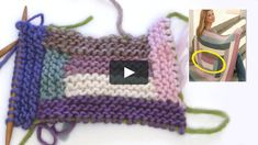 In this DROPS video we show how to knit the 1st - 6th stripes on the blanket in DROPS 124-19. We have less number of stitch and garter st than what is written in…