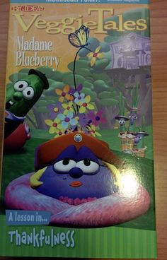 VeggieTales - Madame Blueberry: A Lesson in Thankfulness (VHS, 1999)
