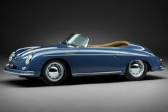 One of only 22 right hand drive models ever built, this 1957 Porsche 356A Speedster is a rare piece of motoring history. Originally delivered to its first owner in Melbourne, Australia, it's outfitted with a MPH speedometer and a 1,600cc...