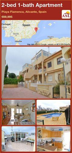 2-bed 1-bath Apartment in Playa Flamenca, Alicante, Spain ►€69,995 #PropertyForSaleInSpain
