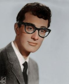 Musician Buddy Holly. | These 17 Historic Photos With Colour Added Are Incredible