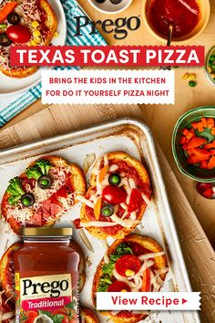 for men on chest Toast Pizza, Texas Toast, Easy Family Dinners, Easy Meals, Tostadas, Appetizer Recipes, Dinner Recipes, Appetizers, Great Recipes