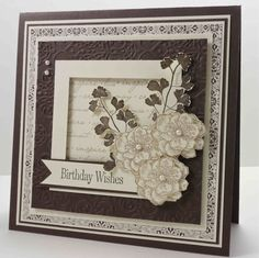 """Love the simplicity of this card from """"Everything Eleanor."""""""