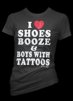 SHOES BOOZ TATTOOS