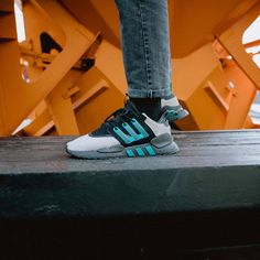 Adidas x Packer Shoes EQT 91 18 Brown   Green 55584fd18