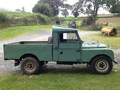 Land Rover series 1 109 pickup