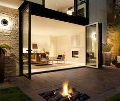 Vouwdeuren geven optimale verbinding van binnen en buiten