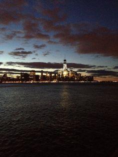 Dramatic #nyc skyline from my morning run in #hoboken
