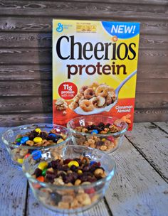 High Protein Trail Mix with Cheerios