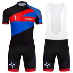 c1d2e44d8 Cycling Jersey Bike Short Sleeve Clothing Set Breathable Cycling Bib Shorts  Suit  Unbranded Cycling Bibs