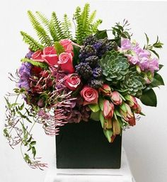 Gorgeous modern arrangement