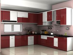 A Modular Kitchen Dealer Can Provide A Top Quality Kitchen Mahalaxmi Kitchen World offers services a Kitchen Cupboard Designs, Design Your Kitchen, Modern Kitchen Cabinets, Interior Design Kitchen, Home Design, Kitchen Furniture, Kitchen Modern, Kitchen Pantry, Kitchen Floor