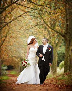 Chris and Gina wedding photography at Alexandra Palace.