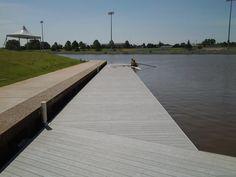 AccuDeck Low Profile Rowing Docks  Devon Boathouse Oklahoma