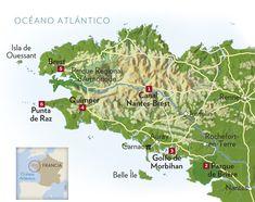 El legendario litoral de la región de Bretaña · National Geographic en español. · Rutas y escapadas