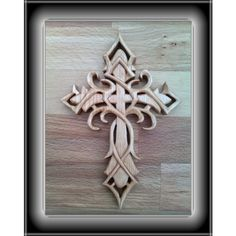 Trible cross's carving i want
