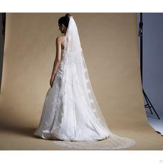 @WomenWantsNL #accessoires #trouwen #sluier #lang #kant #bruid #bridetobe