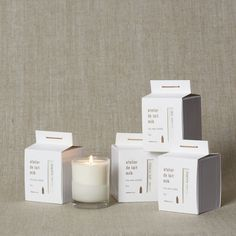 Minedesign Candles - Milk Soy