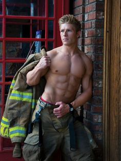 pictures of hot firemen