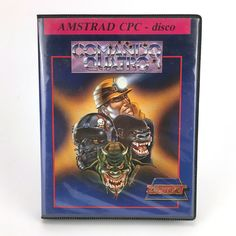 COMANDO QUATRO · VIDEOAVENTURA · ZIGURAT  ESPAÑA 1989 AMSTRAD CPC 664 6128 DISCO
