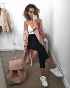 Pink jacket - https://www.missyempire.com/clothing/coats-and-jackets/drema-nude-light-mac-coat