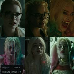 THE EVOLUTION HARLEEN QUINZEL AKA. MY FAVOURITE EDIT YET