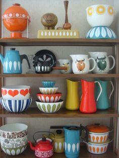 The Salvation Arky 70s Kitchen, Kitchen Decor, Kitchen Design, Kitchen Utensils, Kitchen Taps, Vintage Enamelware, Vintage Kitchenware, 70s Decor, Home Decor