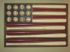American Flag - Vintage sports