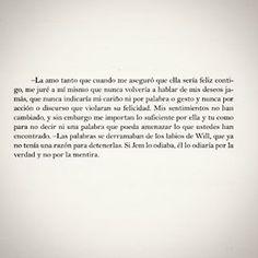 Declaración de mi rendición  #CazadoresDeSombrasLosOrigenes #CazadoresDeSombras #LaPrincesaMecanica #cazadoresdesombraslosorigenesLaPrincesaMecanica #FrasesDeVida #FrasesDeWill #FrasesDeAmor #Amor #Amistad #FrasesEnLibros #Citas #CitasDeLibros