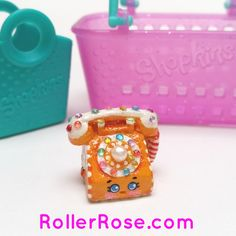 custom hand painted genuine shopkins toy