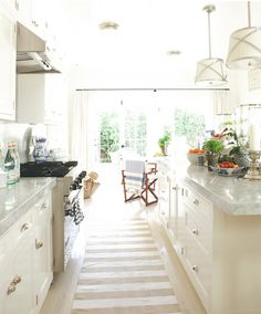 Mark D. Sikes - love this kitchen