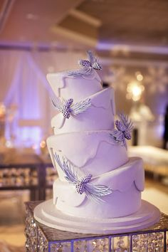 Whimsical Winter Wonderland cake by Mike's Amazing Cakes.
