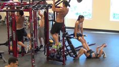 The HOIST Fitness Motion Cage is a series of functional training system exercise stations that can be configured to best suit the facility layout and needs. Crossfit Equipment, No Equipment Workout, Hoist Fitness, Personal Training Programs, Goal Board, Functional Training, Workout Machines, At Home Gym, Small Groups