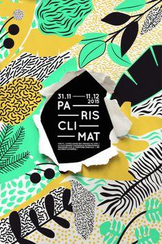 Der Cop 21 vom Studio In the Pool aus gesehen - Grafic Design - Design Cover Design, Graphisches Design, Layout Design, Print Design, 90s Design, Design Patterns, Modern Patterns, Design Ideas, Studio Design