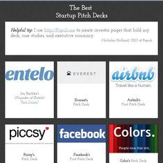 The Best Startup Pitch Decks