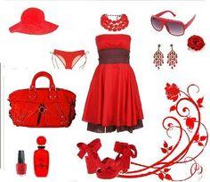 ! Gritos de color (Psicología del color): Significado del color Rojo
