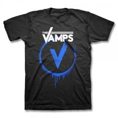 Buy Online The Vamps - Drips Logo T-shirt