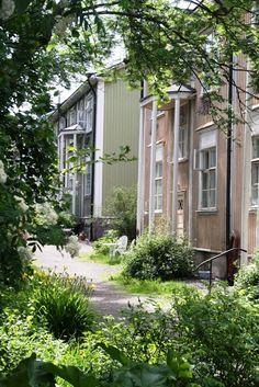 """Puu-Vallila (""""Wooden Vallila""""), Helsinki"""