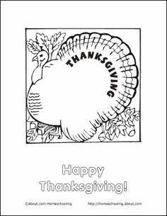Thanksgiving Wordsearch, Crossword Puzzle, and More