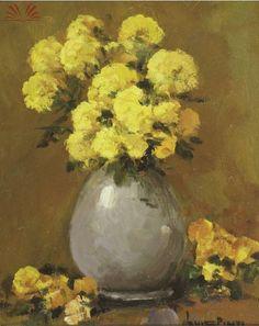 Artista :Luiz Pinto  Título :Flores Amarelas  Técnica :Óleo sobre Tela  Ano :2007  Década :00  Século :21  Dimensões (Cm) :Alt.: 25 / Larg.: 20 / Profund.: