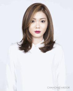 Lotus Wave Perm #medium #hair #beauty #cut #chahongardor