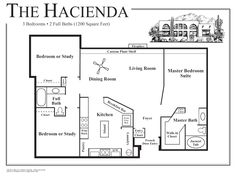 1000 images about house plans and ideas on pinterest for Mexican hacienda floor plans