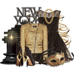New Year's Eve outfit idea- not crazy about the jacket but the v dress is amazing