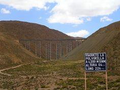 Viaducto la Polvorilla (Tren de las Nubes) - Salta - Argentina