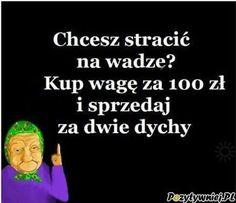 Tak stracisz na wadze Lol, Memes, Funny, Smile, Language, Jokes, Polish, Laughing So Hard, Wtf Funny